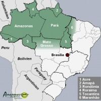 Brasiliens Amazonien-Staaten