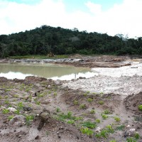 Tagebau im Öko-Paradies