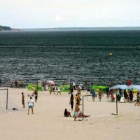Flussstrand Praia Ponta Negra