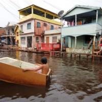 Manaus: Noch zwei Zentimeter bis zur Jahrhundertflut
