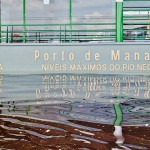 Rio Negro: Vorläufiger Stillstand knapp unter 30-Meter-Marke
