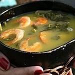 Tacacá – Suppe aus Jambu und Tucupi