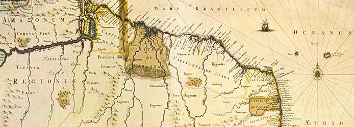 amazonien-antike-karte