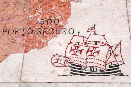 Schiff-Porto Seguro-Windrose-Entdeckerdenkmal_7004