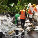 Lecks in Pipeline Perus verseuchen Flüsse des Amazonas-Regenwaldes mit 3.000 Barrel Öl