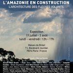 Paris zeigt Architketur der fliegenden Flüsse Amazoniens
